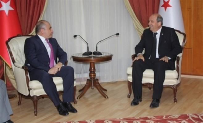 Tatar, Büyükelçi Ali Murat Başçeri ile görüştü...