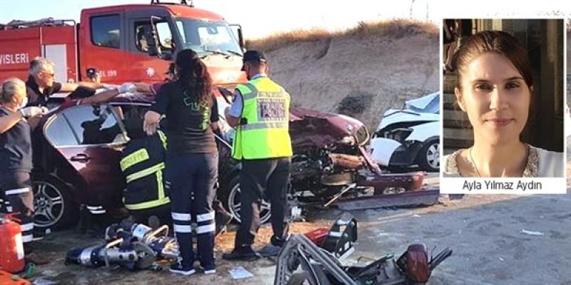 Trafik kazasında yaralanan Ayla Yılmaz'ı kaybettik!