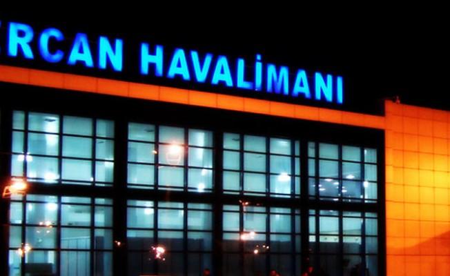 Ercan Havalimanı'na 3 buçuk ay sonra ilk uçuş gerçekleşti