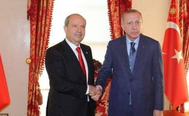 Erdoğan, Tatar ile görüştü...