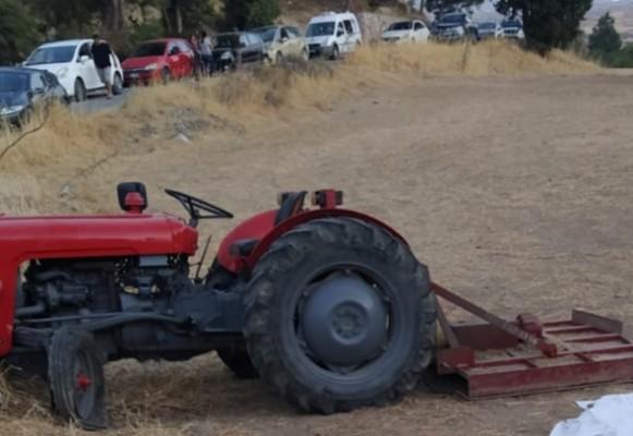 Göçeri'de traktör kazası, bir kişi yaşamını yitirdi
