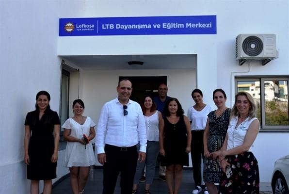 Harmancı, Kıbrıs Türk İnsan Hakları Vakfı'yla görüştü