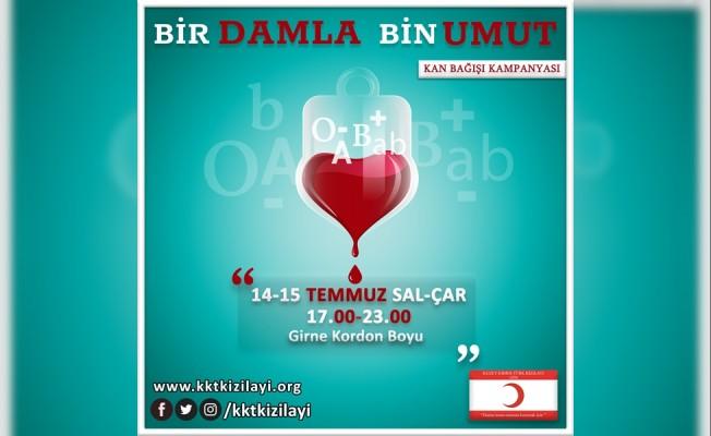Kızılay'ın kan bağış kampanyaları devam ediyor