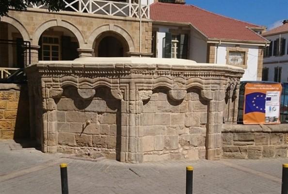 Lefkoşa'daki 3 tarihi çeşmede konservasyon çalışması tamamlandı