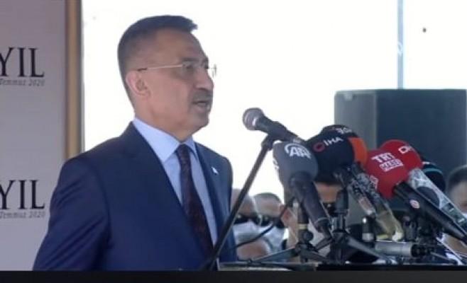 Oktay: Kıbrıs Türkü Türk milletinin ayrılmaz parçasıdır