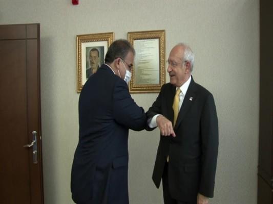 Sucuoğlu, Ankara'da Kılıçdaroğlu'yla bir araya geldi