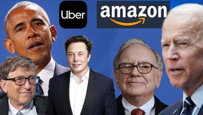 Ünlüler, büyük şirketler ve siyasilerin hesapları ele geçirildi