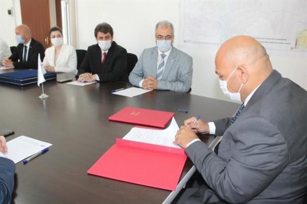 Yapı işleri alanında mutabakat zaptı imzalandı