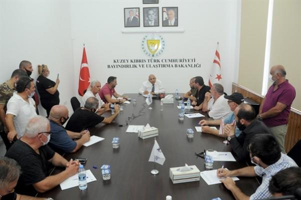 Atakan'dan taksicilere: Yasa hazır!