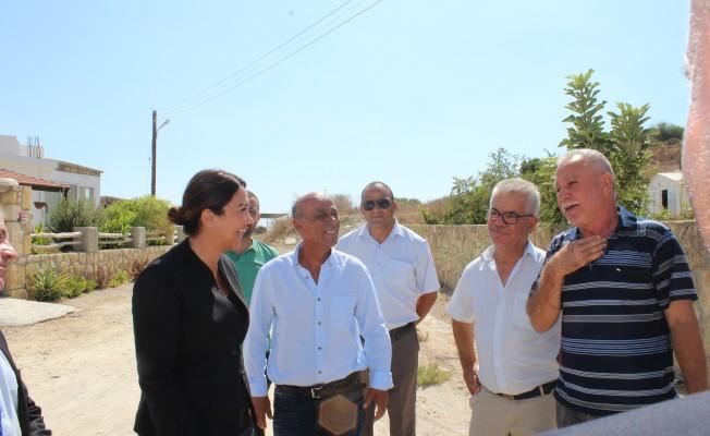 Baybars: 14 köyde 600 haneye yol için altyapı götürdük