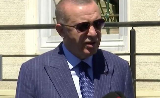 Erdoğan: En ufak bir saldırıyı cevapsız bırakamayız