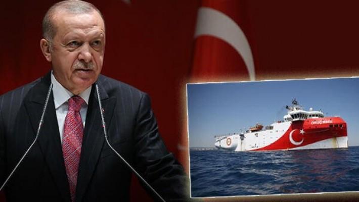Erdoğan: 'Oruç Reis'e saldırırsanız bedelini ağır ödeyeceksiniz' dedik!