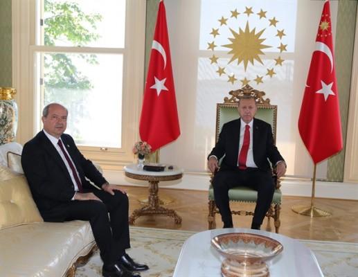 Erdoğan ve Tatar 1.5 saat görüştü...