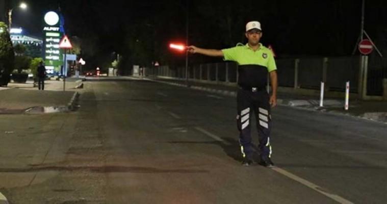 Gazimağusa'da asayiş ve trafik denetimi…