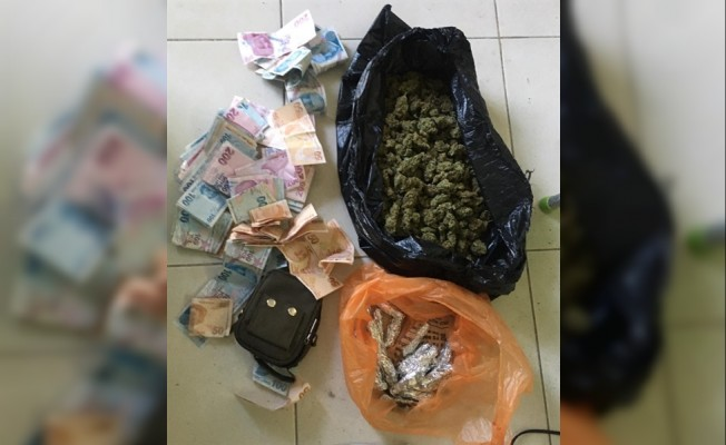 Hamitköy'de uyuşturucu operasyonu..