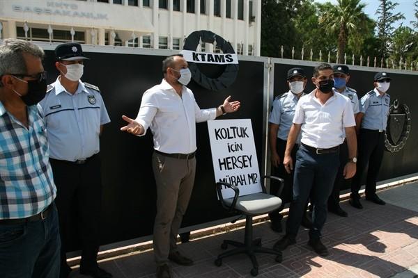 KTAMS geçici işçi istihdamlarını protesto etti