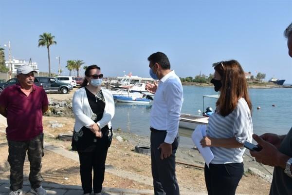 Laguna Balıkçı Barınağı Tika'nın desteğiyle yapılandırılıyor