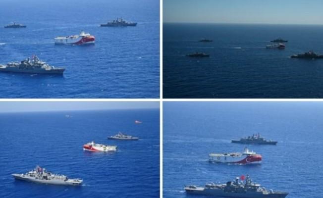 'Oruç Reis ve donanma faaliyetleri geri adım atmayacak'