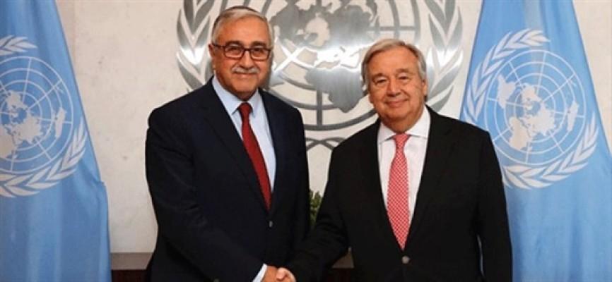 Cumhurbaşkanı Akıncı, Guterres ile görüşecek!