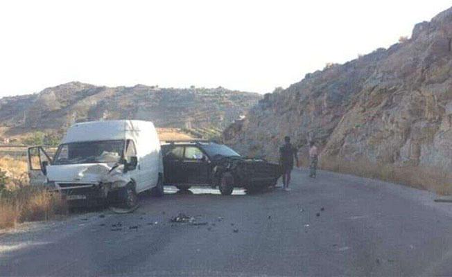 Dağyolu'nda korkutan kaza!