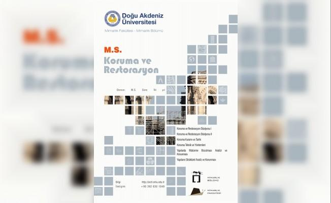DAÜ'de Koruma ve Restorasyon yüksek lisans programı açıldı