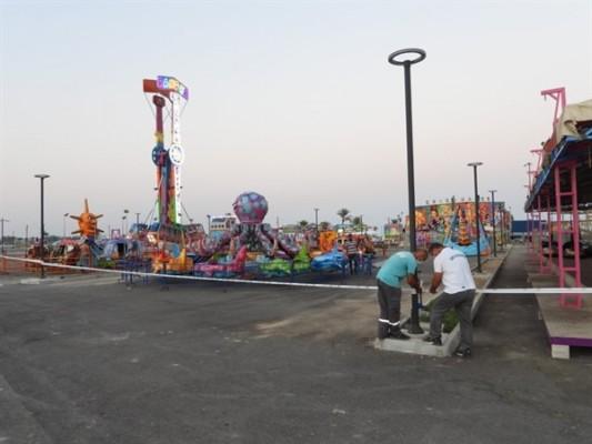 İskele Halk Plajı'ndaki tüm parklar ve piknik alanları kapatıldı