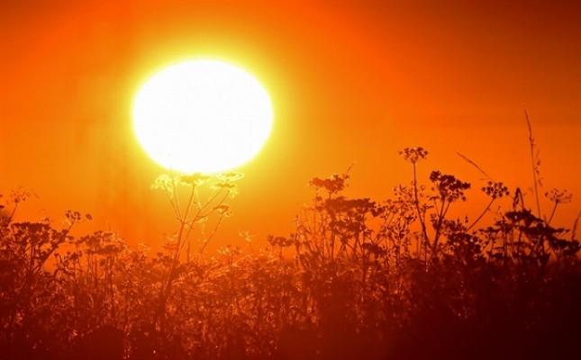 KKTC'de yılın en sıcak günü yaşandı...