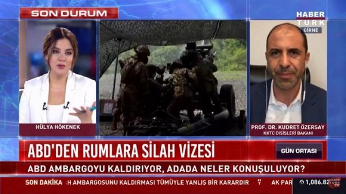KKTC olarak Türkiye'yle istişare halinde bir politika belirledik