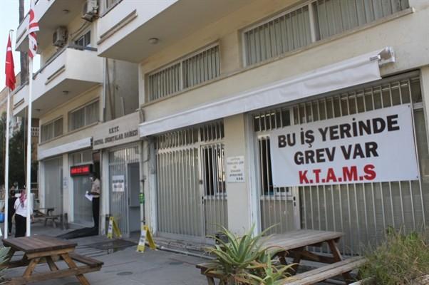 KTAMS, bugün 3 dairede grev yapıyor