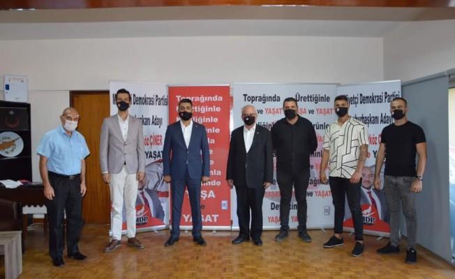 MDP Lefkoşa İlçe Başkanı Mustafa Öztekiner oldu