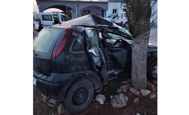Mehmetçik yakınlarında trafik kazası..