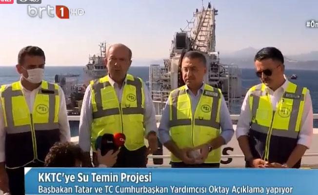 Oktay: Su en geç 25 Eylül'de Türkiye'den KKTC'ye gelecek!