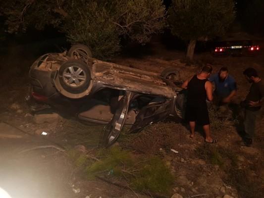 Adaçay - Yeniereköy Anayolu üzerinde kaza!