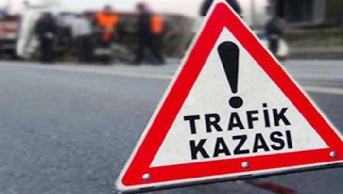 Alsancak'ta trafik kazası...