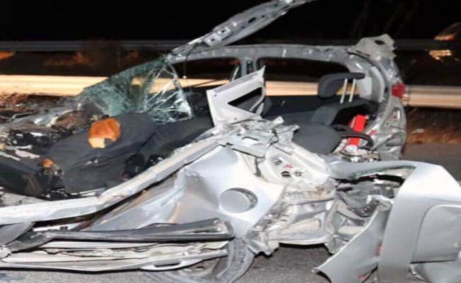 Güzelyurt - Lefkoşa Yolu'nda trafik kazası: 2 ölü