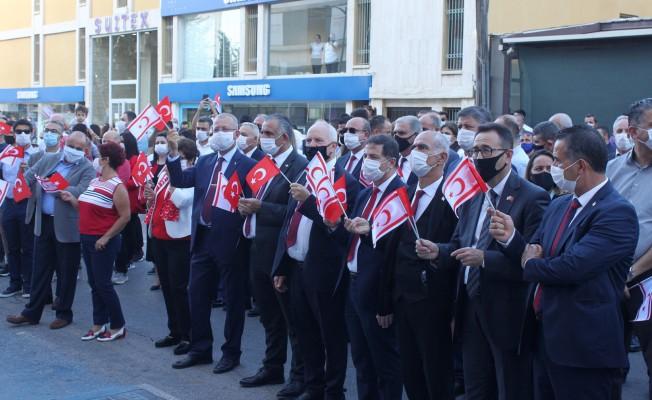 Lefkoşa'da coşkulu Cumhuriyet yürüyüşü...