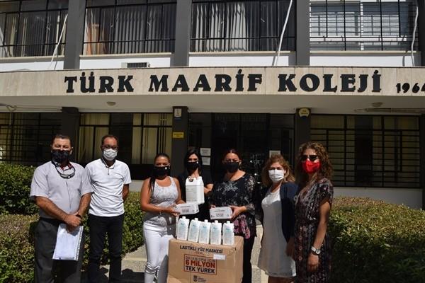 LTB, kamu okullarına maske ve dezenfektan dağıttı