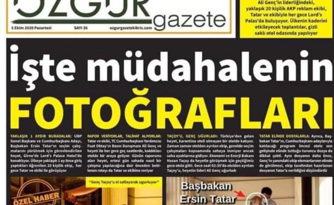 Özgür Gazete'nin Avukatları açıklama yaptı