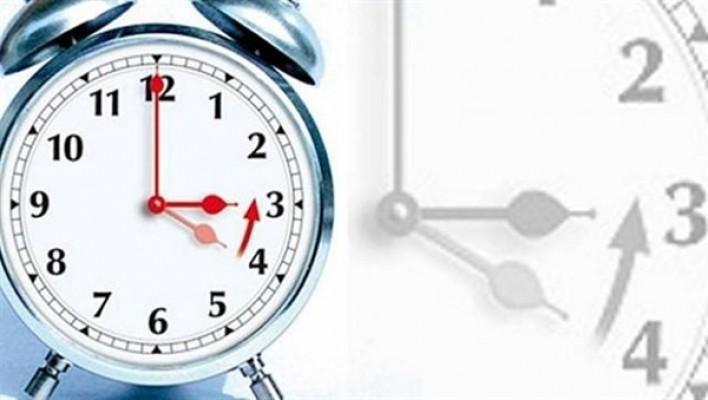 Saatler Pazar günü 1 saat geri alınıyor