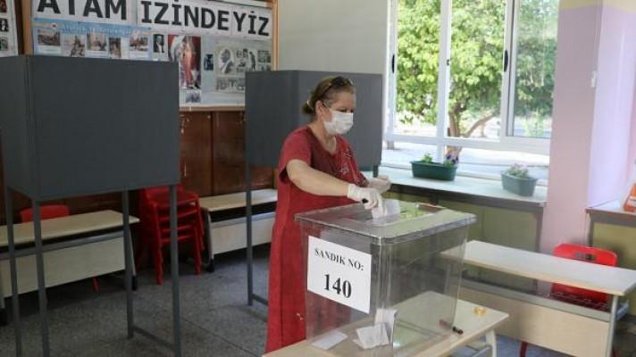 Seçime katılım ülke genelinde yüzde 58,21