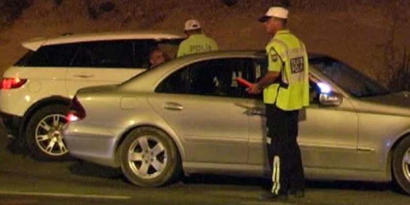 Son bir haftada 891 araç sürücüsü rapor edildi