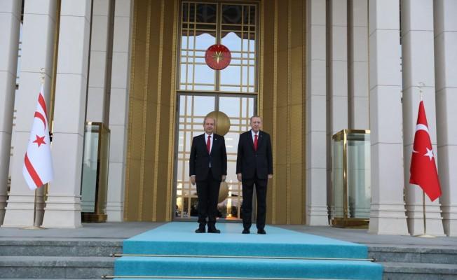 Tatar için TC Cumhurbaşkanlığı Külliyesi'nde tören