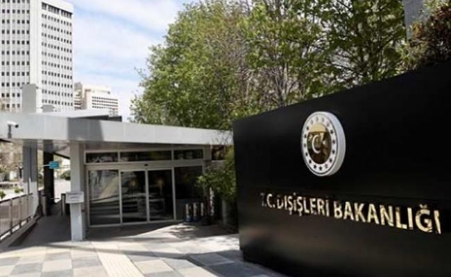 TC Dışişleri Bakanlığı'ndan AB'nin Türkiye raporuna tepki