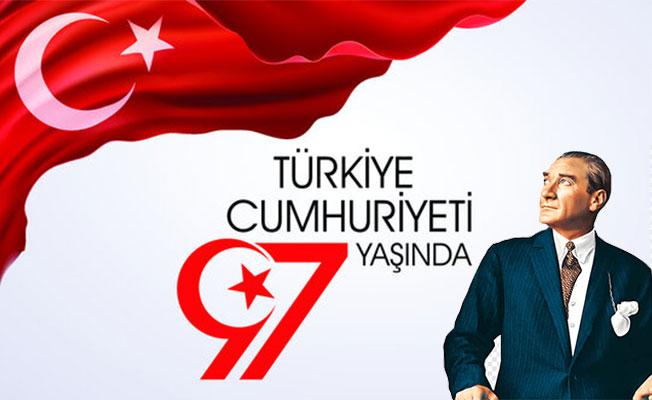 Türkiye Cumhuriyeti 97 yaşında!