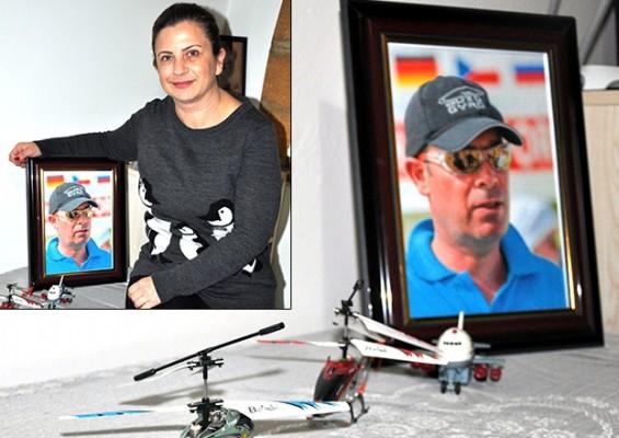 Uçak kazasında ölen Serkan Özcezarlı'nın eşi açıklama yaptı...