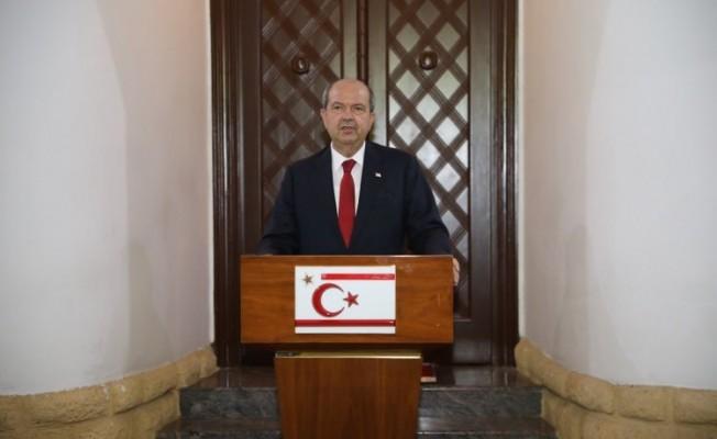 Cumhurbaşkanı Tatar görüşme sonrası açıklama yaptı