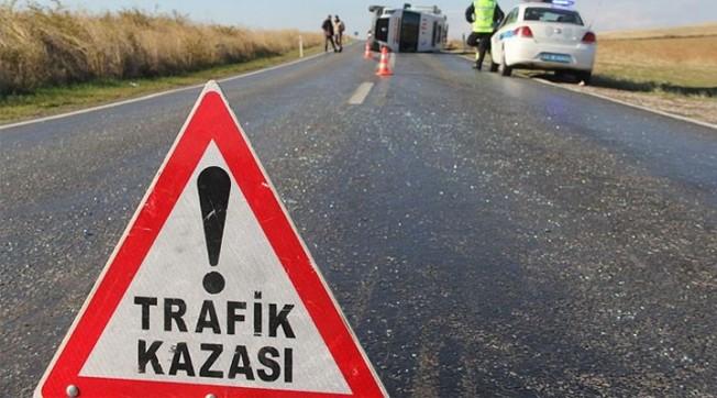 Ciklosta trafik kazası: 2 kişi yaralandı