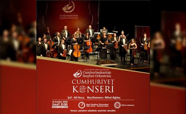 """CSO """"Cumhuriyet konseri"""" verecek"""