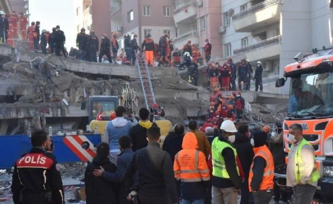 İzmir depreminde ölü sayısı 51'e çıktı