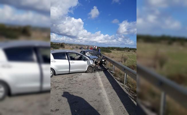 Kumyalı Kavşağı yakınlarında ölümlü kaza!